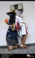 White Mage and  Black Mage Cosplay FFXIV by Evil-Siren