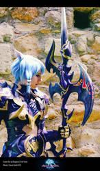 FFXIV Dragoon Cosplay Esumi Aoi 5 by Evil-Siren