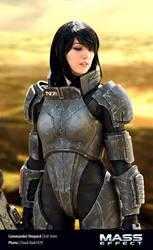 Commander Shepard (femshep) Mass Effect Cosplay 02 by Evil-Siren