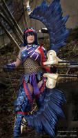 Monster Hunter 3U Nargacuga X Cosplay- Evil-Siren by Evil-Siren