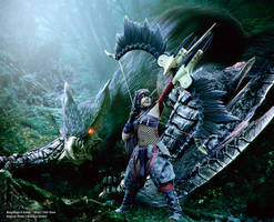 Monster Hunter Nargacuga X Cosplay by Evil-Siren by Evil-Siren