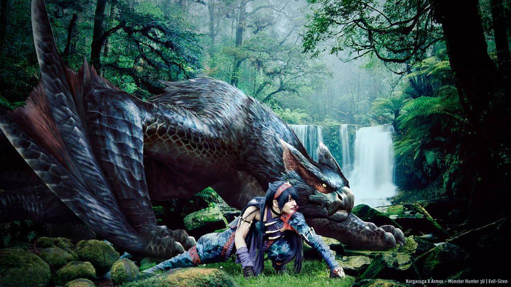 Monster Hunter Nargacuga X Cosplay 3 - Evil-Siren by Evil-Siren