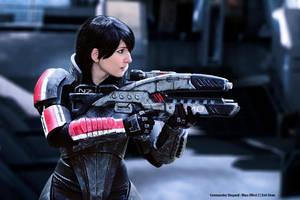 Commander Shepard Cosplay Evil-Siren by Evil-Siren