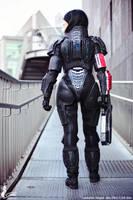 Commander Shepard femshep Evil-Siren Cosplay by Evil-Siren
