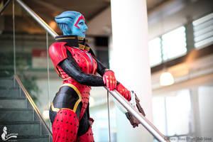 Samara the Justicar Cosplay Mass Effect by Evil-Siren
