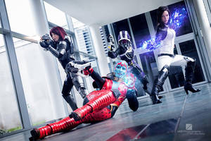 Mass Effect Group Cosplay Evil-Siren by Evil-Siren