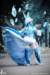Glaceon Wizard Cosplay by Evil-Siren
