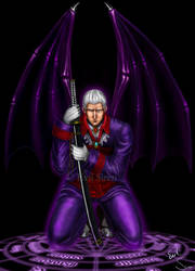 Legendary Dark Knight Sparda by Evil-Siren