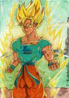 Goku Super Saiyan by Blade3006