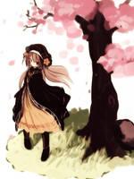 Cherry blossom by yagamisiro