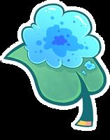 Gummy Goo Leaf (Blue) by ChimereonMasterlist