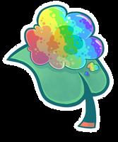 Gummy Goo Leaf (RNBW) by ChimereonMasterlist