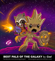 Best pals of the galaxy by Gad by Dreamgate-Gad
