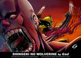 Shingeki no Wolverine by Gad by Dreamgate-Gad