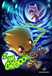 I AM GROOOOOOOOT by Gad by Dreamgate-Gad