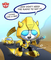 CHIBIBOT BUMBLEBEE by Gad by Dreamgate-Gad