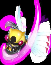 Ninjask used Fury Cutter  by Gad by Dreamgate-Gad