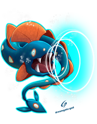 Huntail using Water pulse by Gad by Dreamgate-Gad