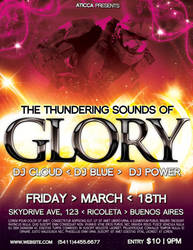 Glory Flyer  Poster Template by AticcaDesign