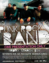 Punk Rock Flyer Template by AticcaDesign
