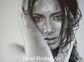 Nicole Scherzinger by Drawing-Dude-Dave
