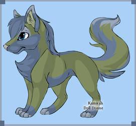 Emma -  Fox form by SassyDragon18