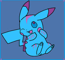Sassy Dragon -  Pikachu form by SassyDragon18