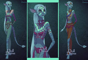 Emma -  Na'vi Girl form by SassyDragon18