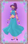 Sassy Dragon - Genie form V2 by SassyDragon18