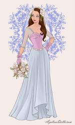 Mila Zorro the Witch:A Wife to be in Wedding Dress by SassyDragon18