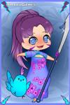 Sassy Dragon - Ninja Girl With Her Chinese Zodiac  by SassyDragon18