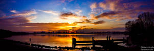 Pano sunset by Tasha0228x