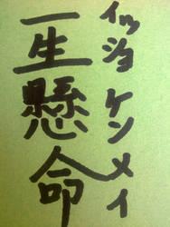 Isshoukenmei by Akagitaa