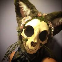 Botnicat Fursuit Head by Ariokkii