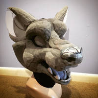 Fossa Fursuit WIP by Ariokkii