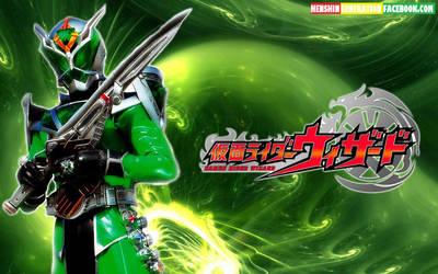Kamen Rider Wizard Hurricane Dragon Style by HenshinGeneration