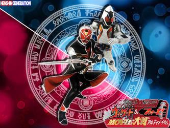 Kamen Rider Wizard X Kamen Rider Fourze by HenshinGeneration