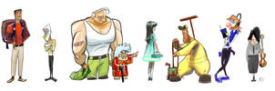 Misc. Filler People by andrewk
