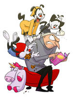Despicable Animaniacs by andrewk