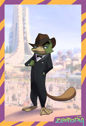 Zootopia Mash-Ups - Perry by andrewk