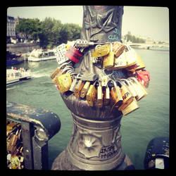 Lock Bridge by todo-mahem