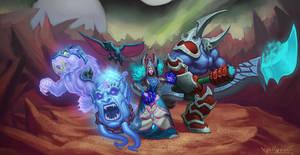Demonology Warlock by VanHarmontt