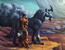 End of Legion warrior by VanHarmontt
