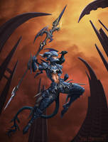 Final Fantasy Dragoon by VanHarmontt