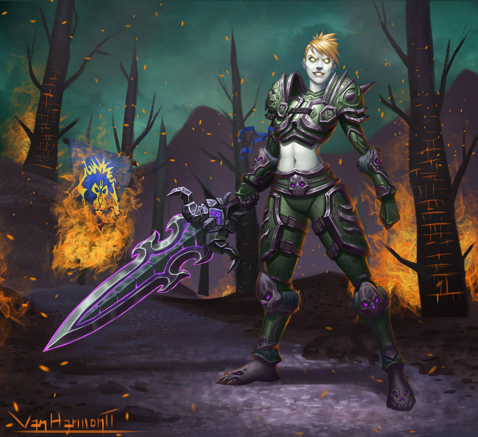 Undead Warrior by VanHarmontt