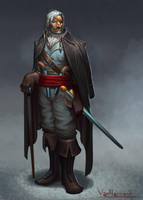 Outlaw Rogue by VanHarmontt