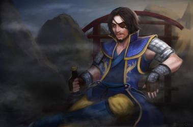 Xiahou Dun by serpentdoness