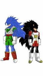 Goku  Vegeta? or Sonic  Shadow? by edvardstas