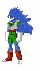 Goku the Hedgehog  by edvardstas