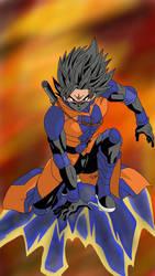 Goku the Assassin by edvardstas